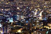 Постер, плакат: La Paz in Bolivia at Night
