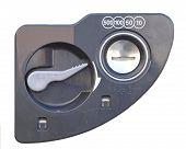 foto of coin slot  - Close  - JPG