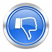 pic of dislike  - dislike icon - JPG