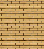 foto of tile cladding  - The texture of yellow brick cladding tiles - JPG