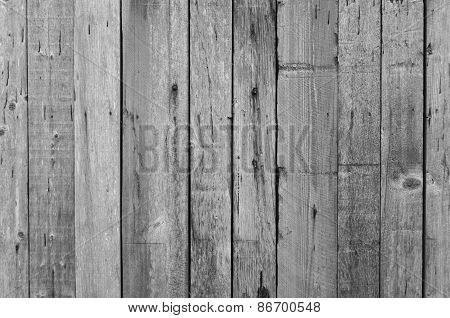 Grey wood planks