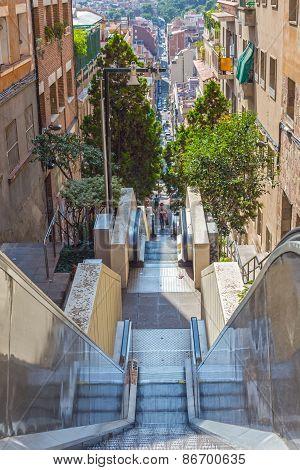 Street near Guel Park