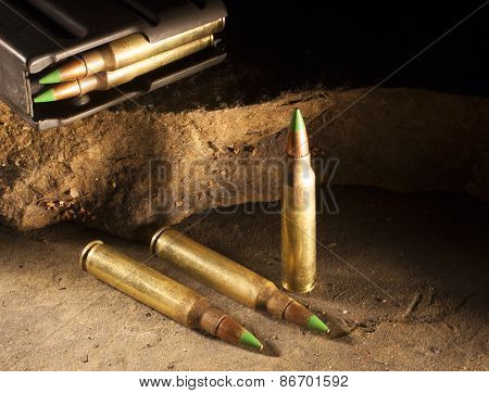 Green Tipped Bullets