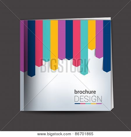 Brochure, report layout template.