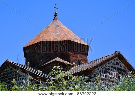 Detail Of The Church In Sevanavank, Sevan Lake