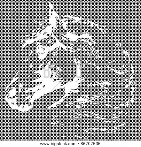 Horse Textural Background