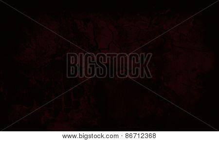 Dark Red Grunge Textured Wall. Copy Space