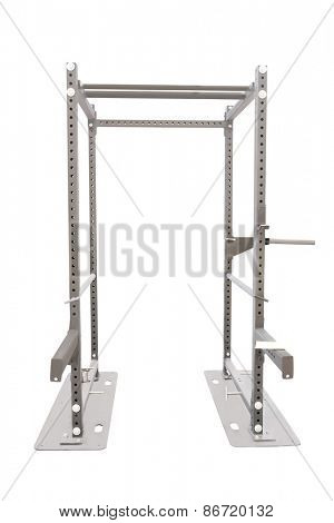 Gym apparatus isolated on a white background.