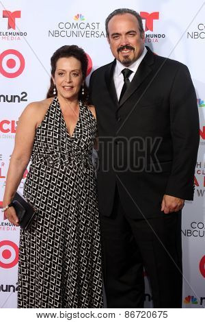 LOS ANGELES - SEP 27:  David Zayas at the 2013 ALMA Awards - Arrivals at Pasadena Civic Auditorium on September 27, 2013 in Pasadena, CA