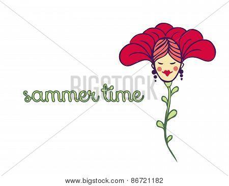 Spring Or Summer Background