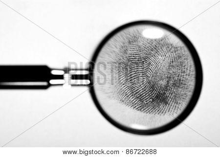 Fingerprint hand