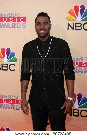 LOS ANGELES - MAR 29:  Jason Derulo at the 2015 iHeartRadio Music Awards at the Shrine Auditorium on March 29, 2015 in Los Angeles, CA