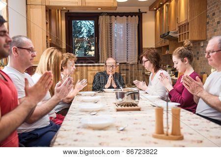 Big Generation Family Dinner