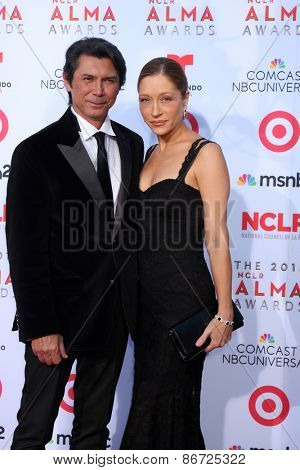 LOS ANGELES - SEP 27:  Lou Diamond Phillips at the 2013 ALMA Awards - Arrivals at Pasadena Civic Auditorium on September 27, 2013 in Pasadena, CA
