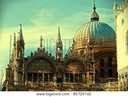 Basilica Di San Marco St. Mark S Cathedral Venice