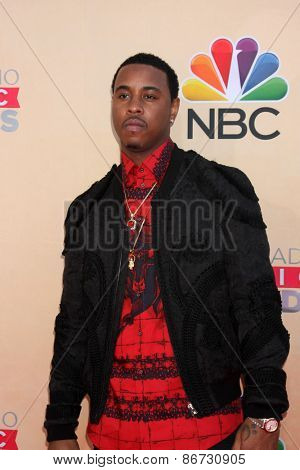 LOS ANGELES - MAR 29:  Jeremih at the 2015 iHeartRadio Music Awards at the Shrine Auditorium on March 29, 2015 in Los Angeles, CA