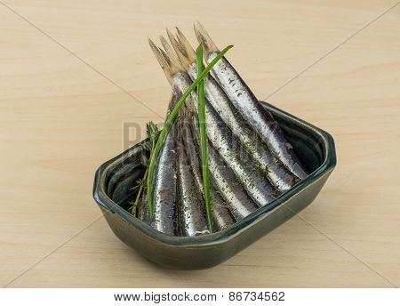 Salted Anchovy