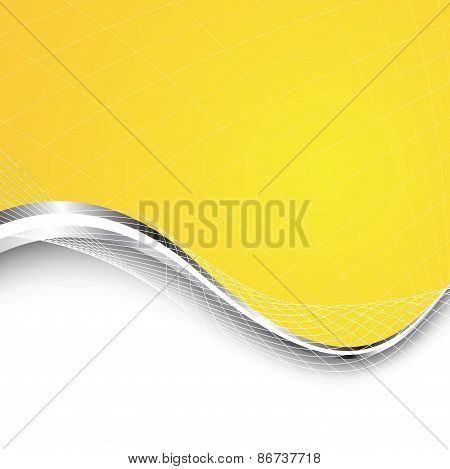 Stylish Abstract Orange Background. Vector Illustration
