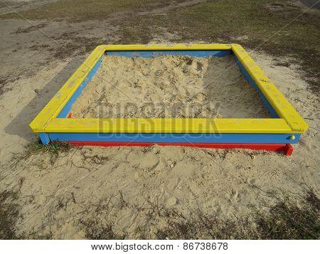 square sandpit