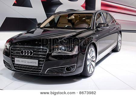Audi A8 Long - russian premiere