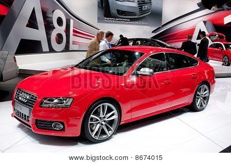 Audi S5 Sportback - russian premiere