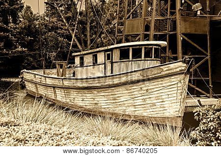 Weathered Fishing Boat