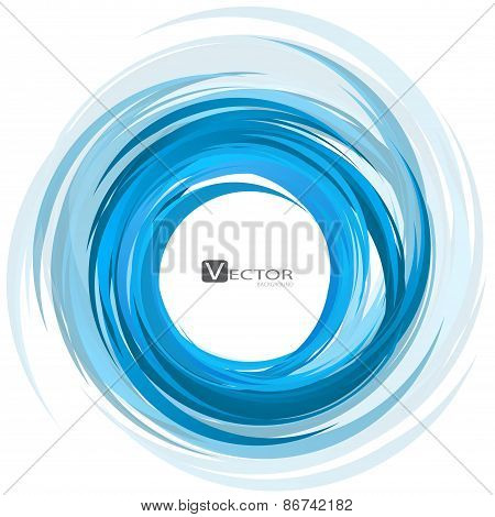 Abstract Swirl Background. Vector Illustration