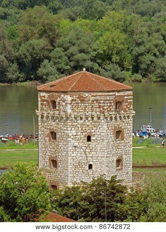 octagonal Nebojsa Tower Kalemegdan Fortress, Belgrade