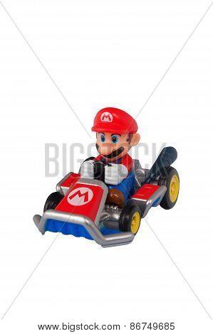 Mario Kart Diecast Toy