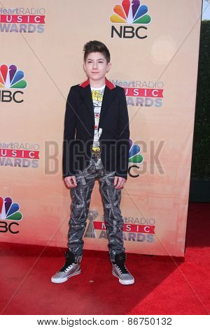 LOS ANGELES - MAR 29:  Mason Cook at the 2015 iHeartRadio Music Awards at the Shrine Auditorium on March 29, 2015 in Los Angeles, CA