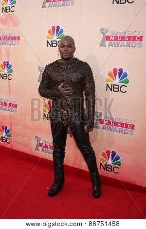 LOS ANGELES - MAR 29:  Lord KraVen at the 2015 iHeartRadio Music Awards at the Shrine Auditorium on March 29, 2015 in Los Angeles, CA