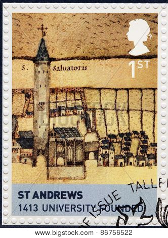 St Andrews Stamp