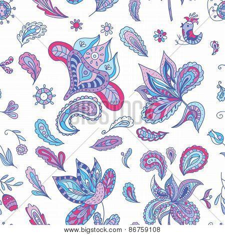 Fresh Indian Paisley Pattern