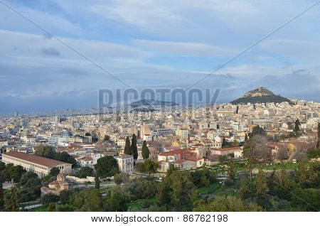 View Across Athens