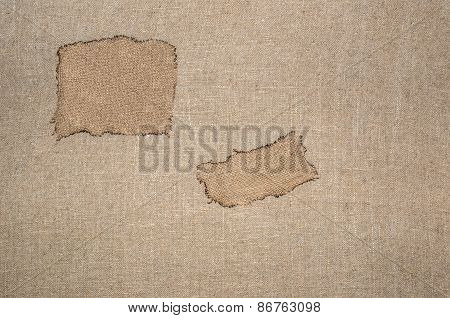 Sacking Texture Wallpaper