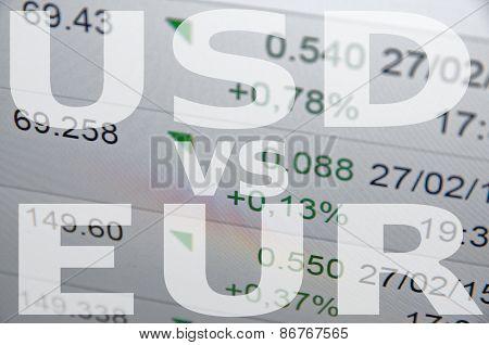 Usd vs eur