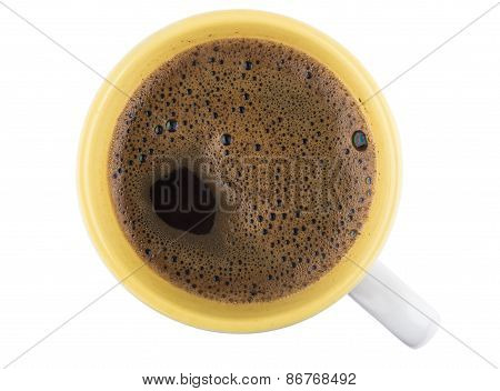 Espresso In A Cup, Top View