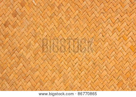 Weave Wood Pattern Texture, Thai Style