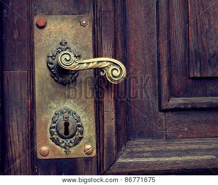 Old door (detail)