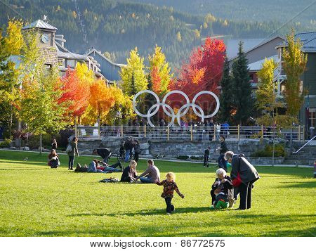 Autumn Day in Whistler