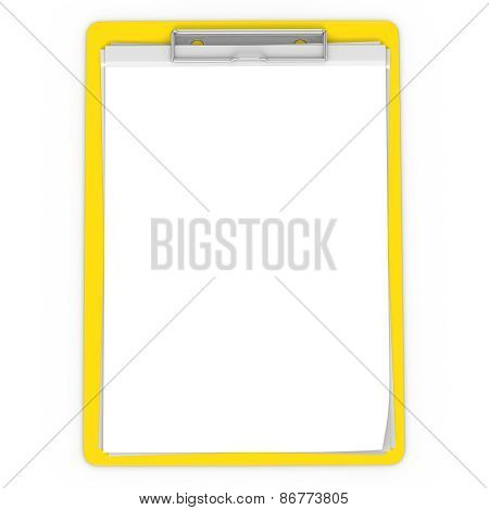 3D Yellow Pad Holder