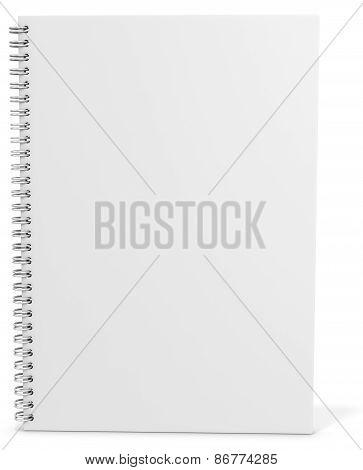 3D Blank Spiro Notebook