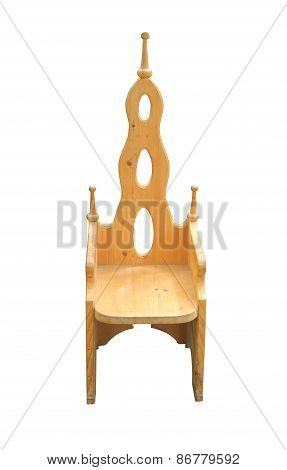 Wooden Chair.