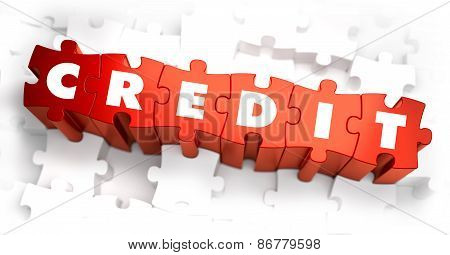 Credit - White Word on Red Puzzles.