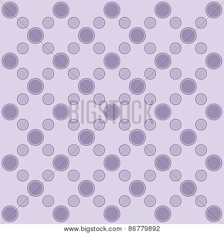 Background With Abstract Circles For Design