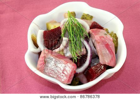 Young Herring Salad