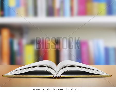 Open magic book