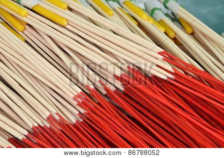 Pattern Of Joss Stick