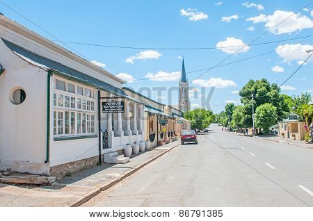 Street Scene, Richmond, South Africa