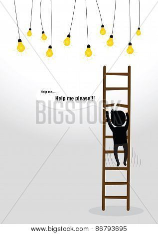 Businessman Fall Concept